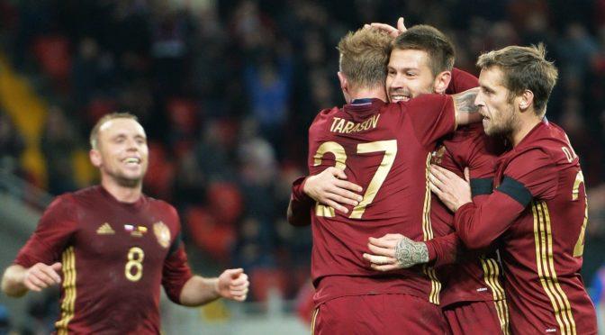 Сборная России по футболу попала в дивизион В Лиги наций