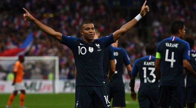 Франция победила Нидерланды в Лиге наций