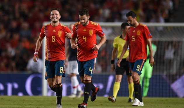 Испания разгромила Хорватию 6:0