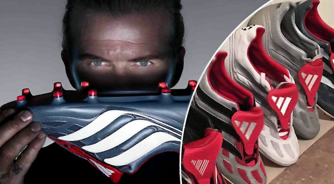 Adidas совместно с Девидом Бэкхемом готовят новую модель бутс