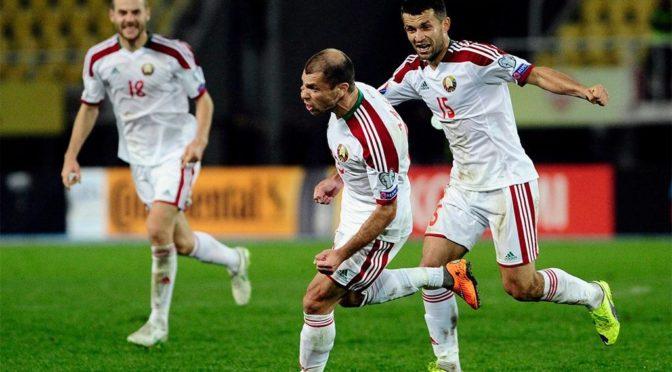 Сборная Беларуси установила рекорд по забитым мячам