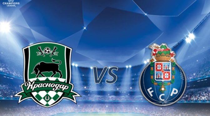 Краснодар — Порту. Квалификация Лиги чемпионов. 7 августа