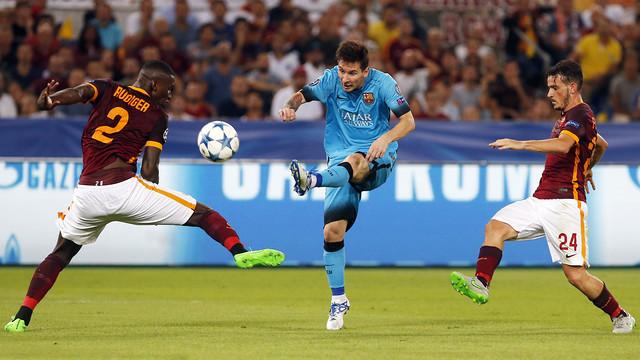 «Рома» творит чудеса и выбивает «Барсу» из Лиги Чемпионов