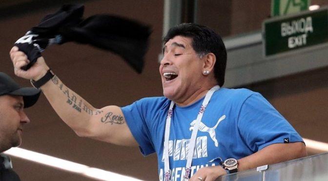 Марадона снова употребляет наркотики
