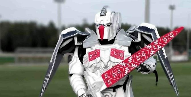 Талисман сборной Беларуси по футболу — робот!