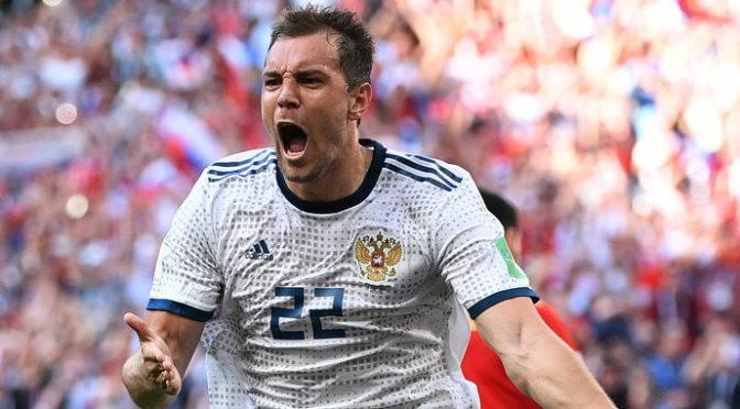 Россия победила Турцию в первом матче Лиги наций